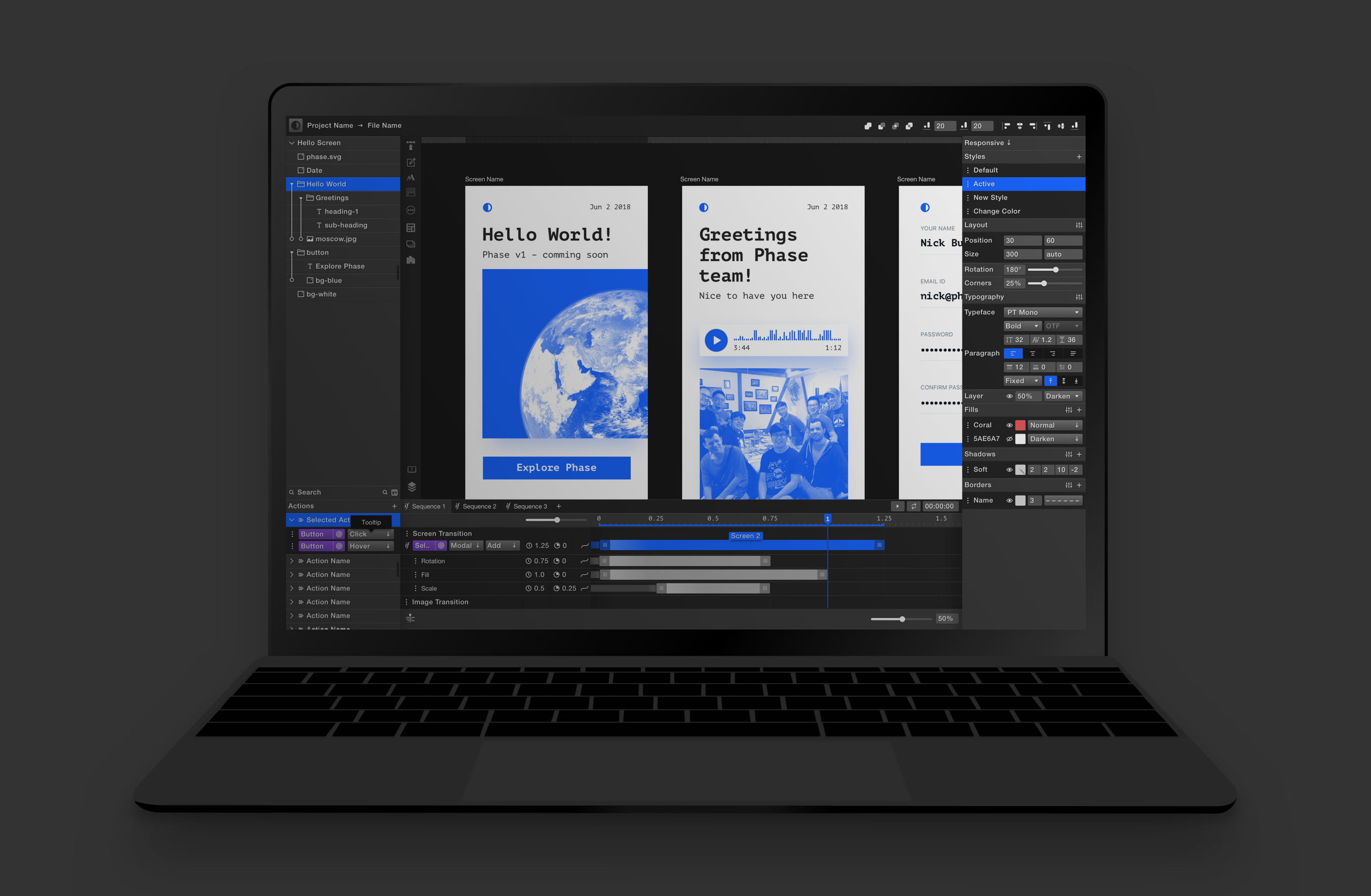 Phase - digital design tool reworked from the ground up