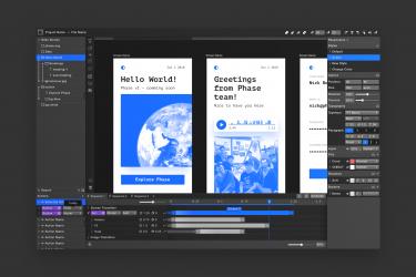 Editor UI Phase v1