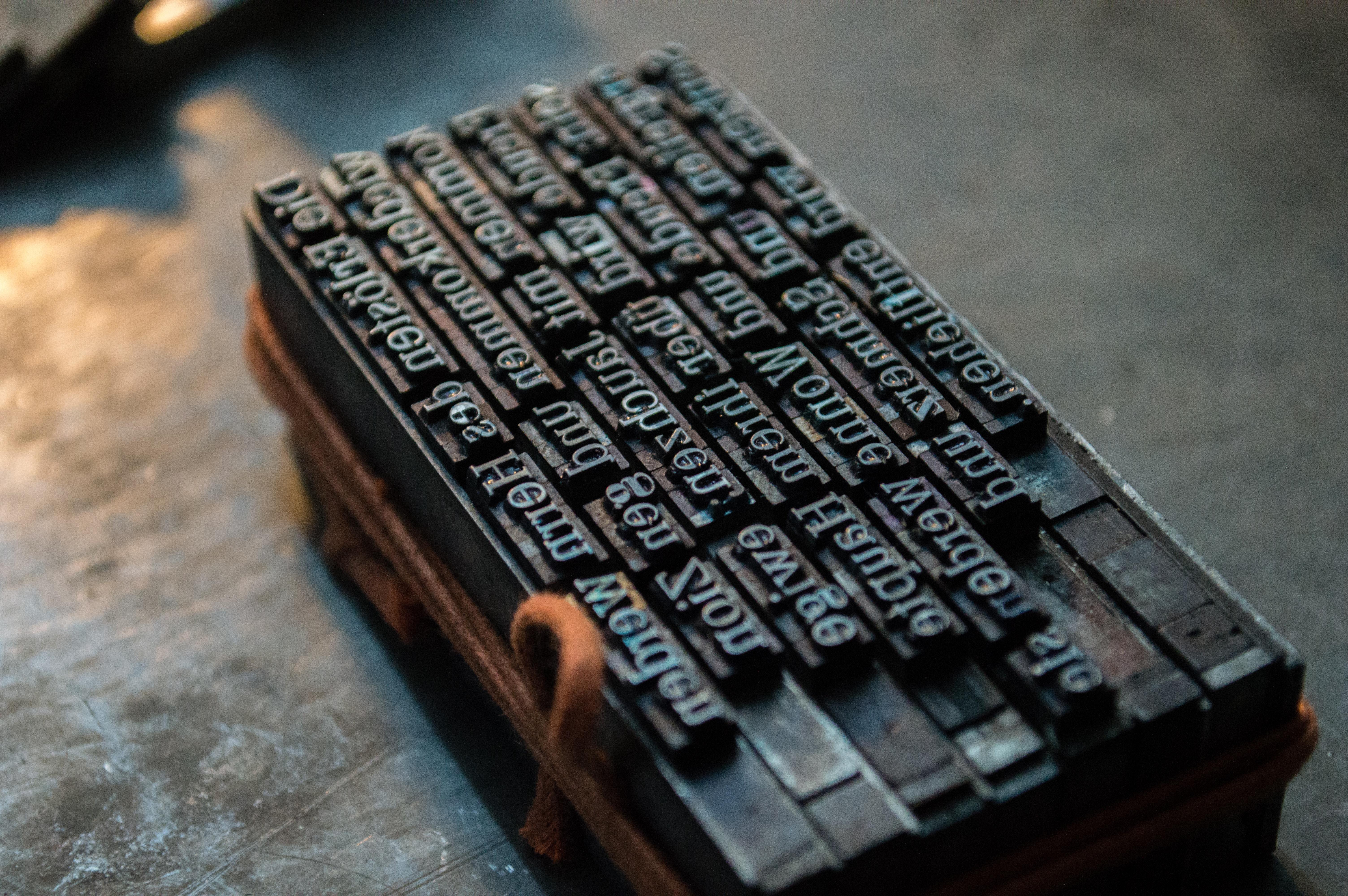 Gutenberg print