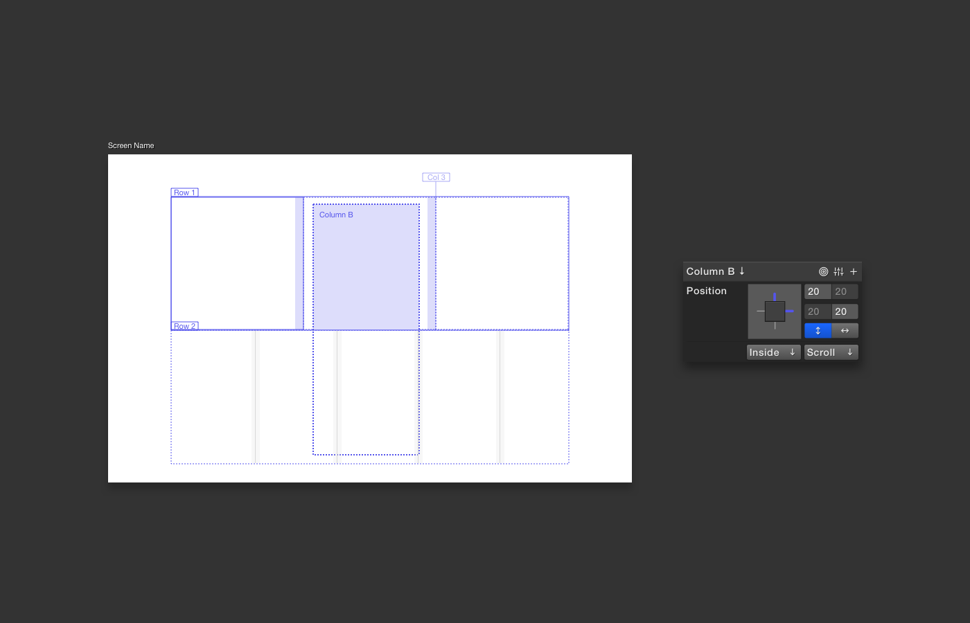 Dynamic Layouts In Phase