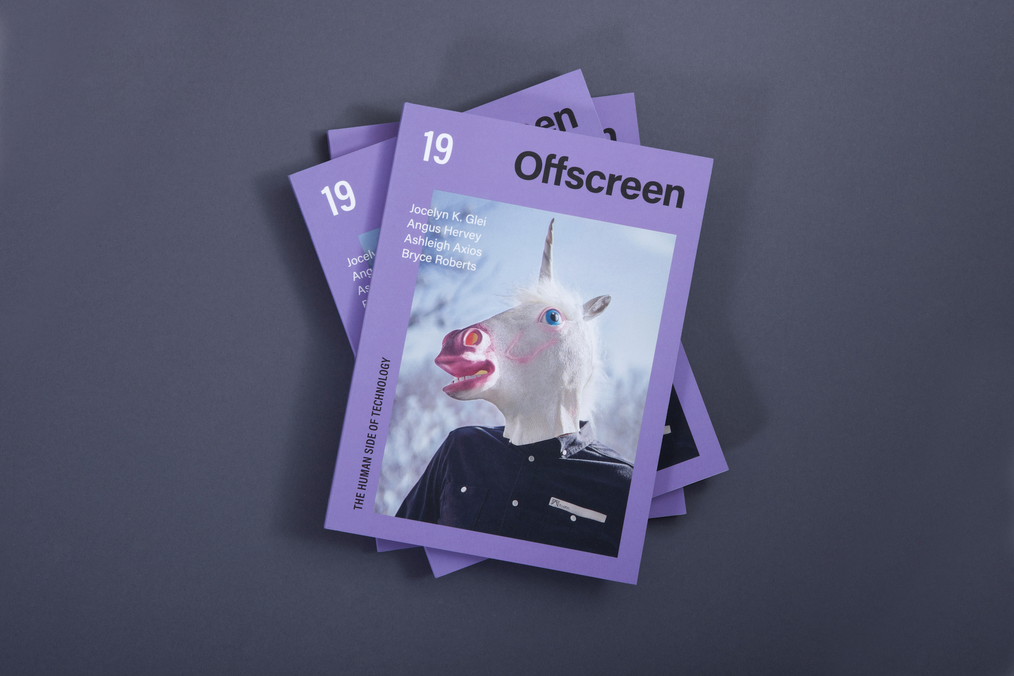Issue #19 of Offscreen Magazine
