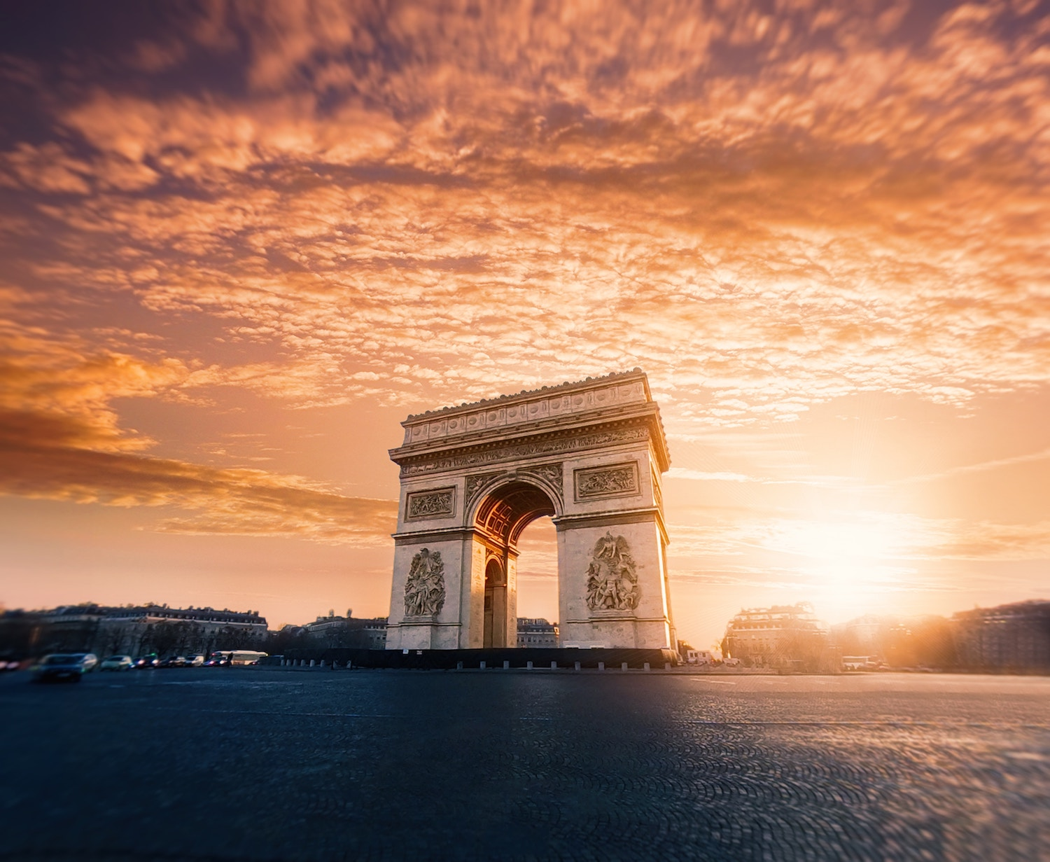 Sunset in Paris, Design Ecosystem